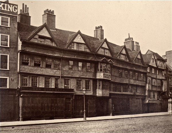 In search of relics of old london spitalfields life for Classic house old street london