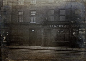Houndsditch Crime Scenes 2 View of Mr Harris' shop and adjoining premises