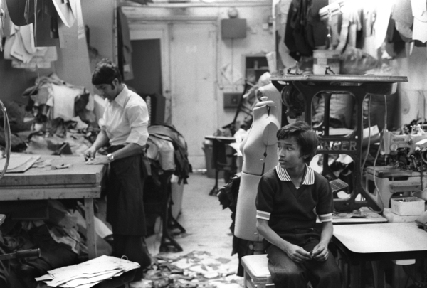 1970S BRICK LANE SWEATSHOP RAG GARMENT TRADE LONDON ASIAN ...