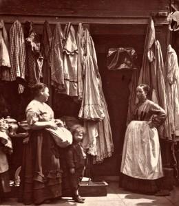 An Old Clothes Shop, Seven Dials