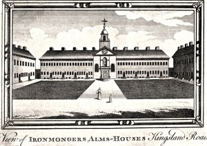 View of the Almshouses, c1820, anonymous