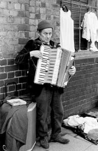 Accordian Player Cheshire Street