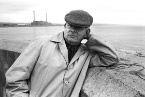 James Boswell, painter and illustrator, in Shoreham in the early 1960s