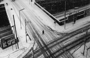 Snow Clerkenwell New Year's Eve 1961