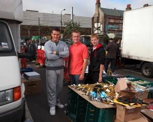 Perry Sam and Jack Brick Lane Market Series by Jeremy Freedman 2011