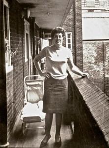 Irene Kingsley at Herbert House E1 c1957