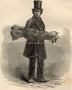 The Street-seller of Walking-sticks