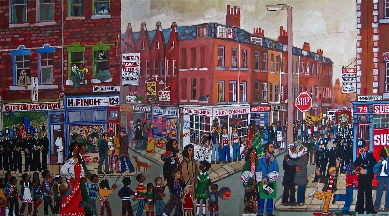 Dan Jones Paintings Spitalfields Life