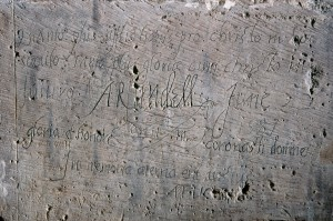5.0103001.00014 Philip Howard Earl of Arundell inscription 22.6.1587 (c) HRP