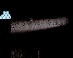 Ambrose Rookwood  inscription in the Martin Tower (c) HRP
