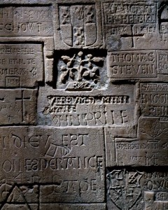 HRP_N_13 5.0103001.00020 Beauchamp Tower inscription first fl