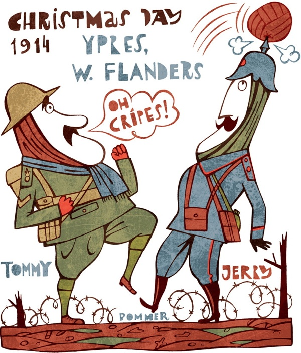 11th December, Christmas Truce | Spitalfields Life