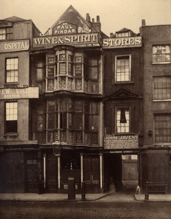 The romance of old bishopsgate spitalfields life for Classic house old street london