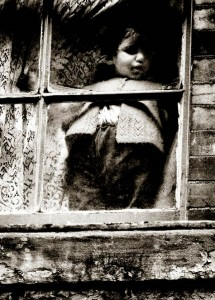 CHILD AT WINDOW-E.2-62