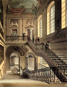 Hall and Staircase, British Museum