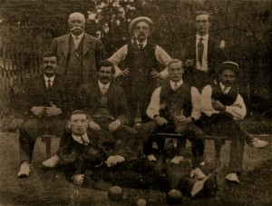Chess Vale Bowls Club 1910approx