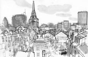 Spitalfields 1 © Lucinda Rogers