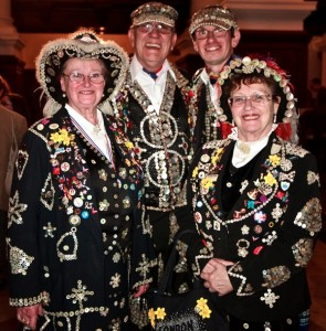 The Pearly Kings and Queens at Spitalfields Life by Jeremy Freedman 2012