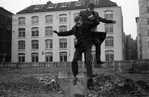 Boys Playing on Bombed site Clerkenwell 1960's copy - Copy