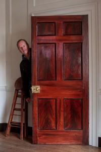 Ian Harpers Doors 3 Fournier Street Ian  by Jeremy Freedman 2012