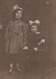 First cousins Mary Hamburg & Mary Mekelburg circa 1919 - Copy