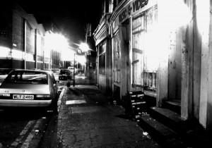 brick lane night time