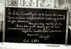market cafe farewell