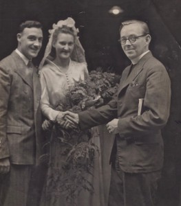 Anne and Harry Mason married at Mahogany Bar