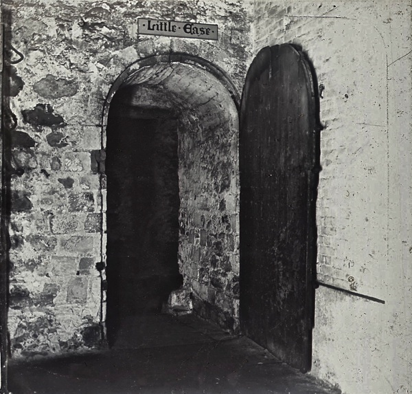 The door to the chamber of Little Ease at the Tower of London. & The Doors Of Old London | Spitalfields Life