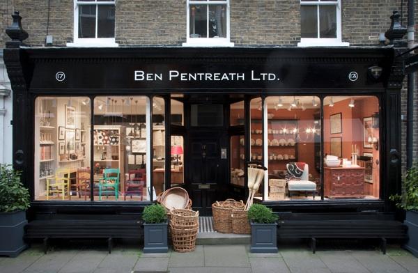 Ben Pentreath Ltd Shopfront Spitalfields Life