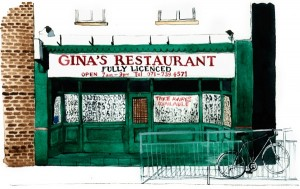 Gina's Restaurant Bethnal Green Rd 1000px