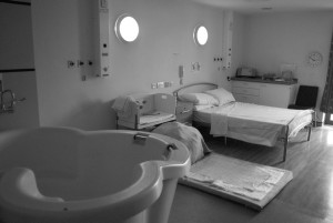 Birth room at the Barkantine