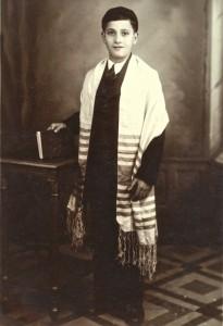 Dad Barmitvah 1932
