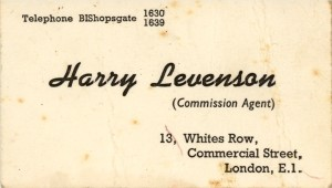 Dad Business Card Whites Row