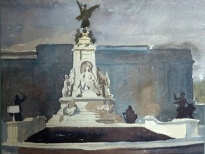 Hawthorne Victoria Memorial, Buckingham Palace Beyond.JPG ELG 30