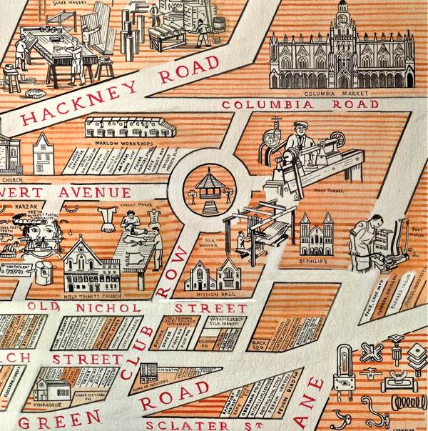 The Map Of Industrious Shoreditch Spitalfields Life