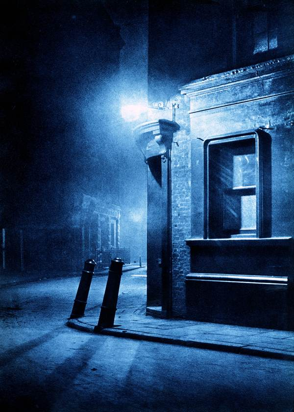 city street corner at night - photo #8