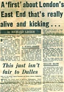 Evening Standard, 21 Feb 1961