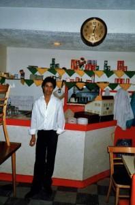 Waiter, Nazrul Restaurant, Brick Lane, 29 May 1988