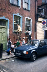 Window Cleaning, Wentworth Street, Mar 1988