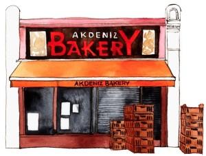 Akdeniz Bakery Stoke Newington 1000px