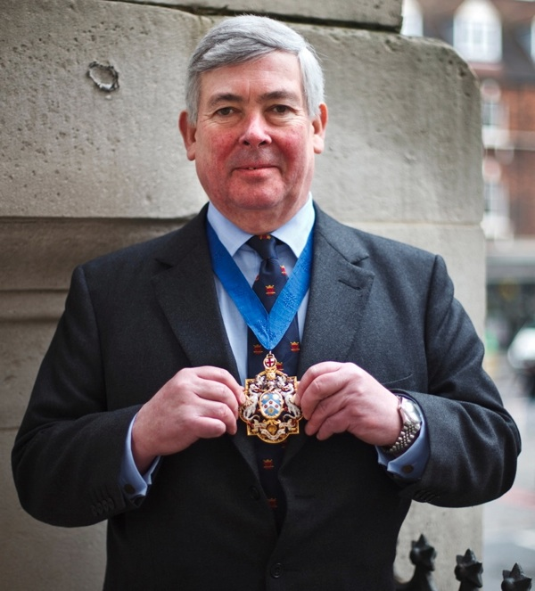 Jolyon Tibbitts Upper Bailiff Of The Worshipful Company