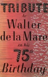 tribute to walter de la mare001