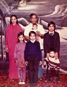 Family pic 1980 - Vallance Road