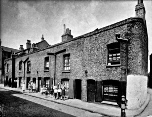 St Anne Street Beck family 1938