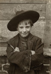 LSF HWC Spitalfields Nippers 22 Boy wearing wide brim hat - Version 2