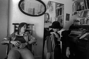 Liz and Sue, Fieldgate Mansions, Whitechapel Sept1975 (1)