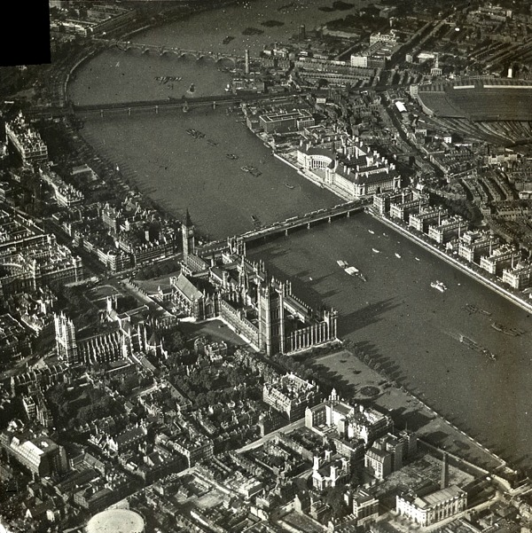 Vintage aerial photographs of britain