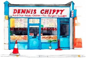 Dennis Chippy Lea Bridge Road 1000px
