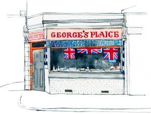George's Plaice Roman Rd 1000px